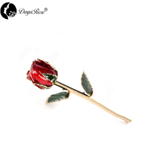 Daya Gold Rosebud (red)