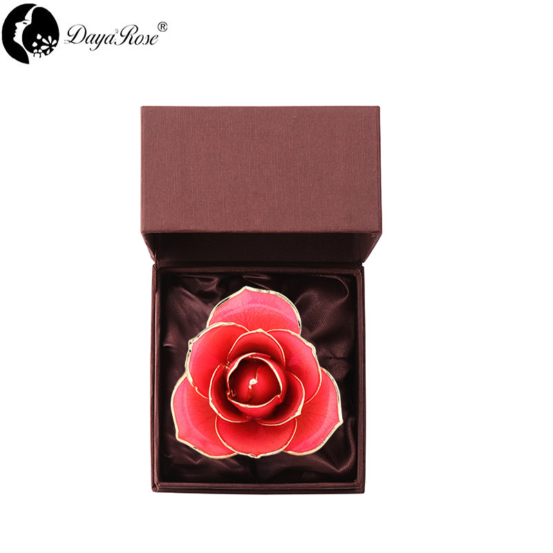 Love Only Pink Gold Rose (natural Rose)