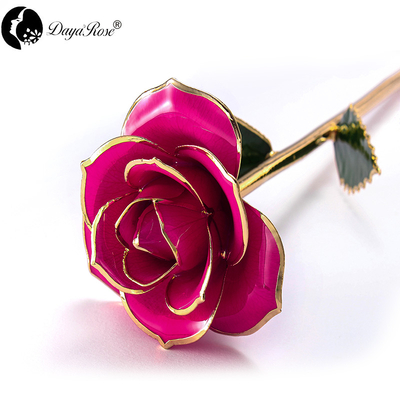Wholesale Processing Customized Diana Rose of Rose Red And Gold