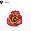 Wholesale Processing Customized Diana Champagne Rose with Purple And Gold