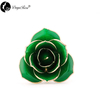 Wholesale Processing Customized Diana Dark Green Gold Rose