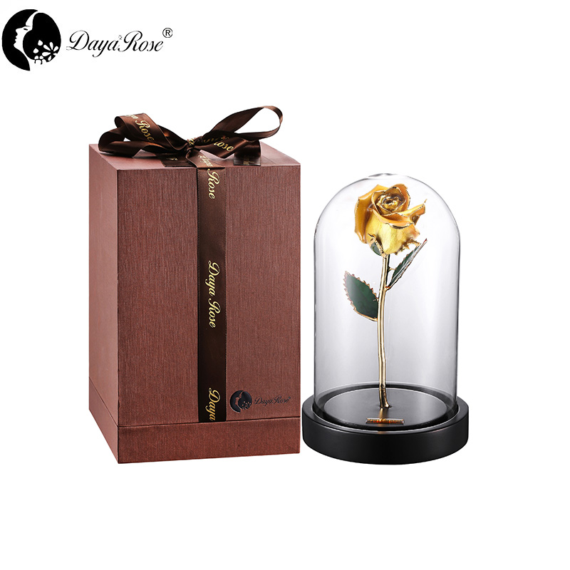 Daiya Gold Rose Bud/yellow+The Glass Cover