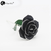Black Rose with Silver