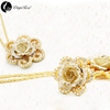 Daya Gold Rose Solid Color Jewelry (natural Flowers)