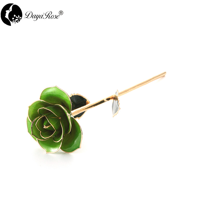 Wholesale Processing Customized Diana Pale Green Gold Rose