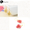 Jane Eyre Gold Rose Earrings (fresh Rose)