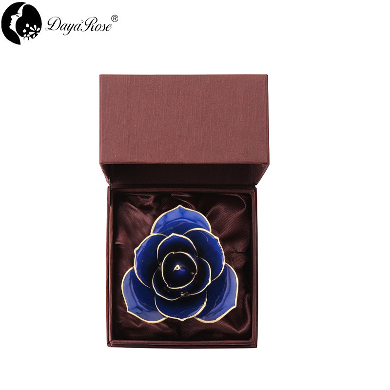 Love The Only Blue Gold Rose (natural Rose)