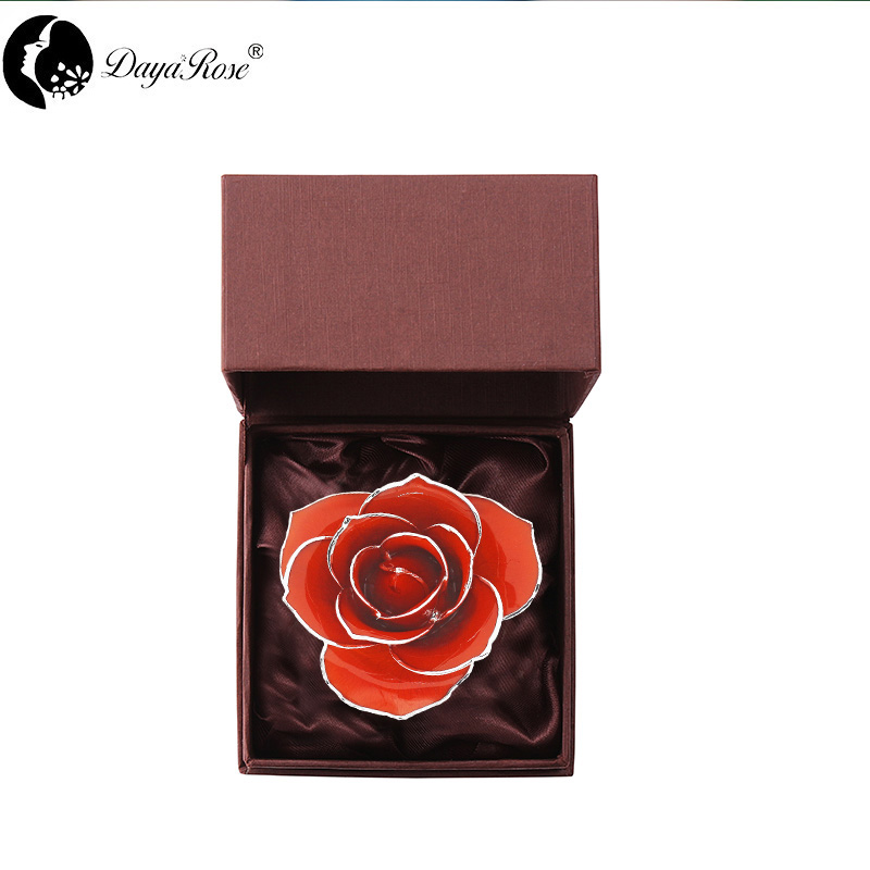 Silver Orange And Red Roses(Independent Beautiful)